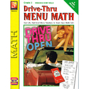 Remedia Publications REM601A Drive Thru Menu Math Beginning Money Skills