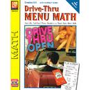 Remedia Publications REM601B Drive Thru Menu Math Add & Subtract Money