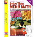 Remedia Publications REM601C Drive Thru Menu Math Multiply & Divide Money