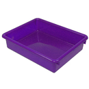 Romanoff Products ROM15106 3In Purple Stowaway Letter Tray