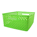 Romanoff Products ROM74115 Medium Lime Woven Basket