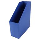 Romanoff Products ROM77704 Magazine File Blue 9.5X3.5X11.5