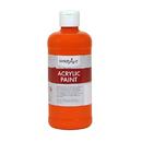 Rock Paint / Handy Art RPC101025 Acrylic Paint 16 Oz Chrome Orange