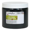 Rock Paint / Handy Art RPC241055 Handy Art Black 16Oz Washable - Finger Paint