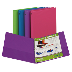 Samsill SAM11199 Fashion Color Binder 1/2In Capacity, Price/EA