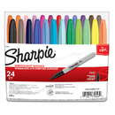 Sanford L.P. SAN75846 Sharpie Fine Felt Point 24 Color Set Markers