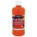 Sargent Art SAR173414 Orange Art-Time Washable Paint 16Oz