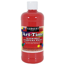 Sargent Art SAR173420 Red Art-Time Washable Paint 16 Oz