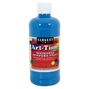 Sargent Art SAR173461 Turq Art-Time Washable Paint 16 Oz