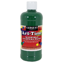 Sargent Art SAR173466 Green Art-Time Washable Paint 16 Oz