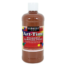 Sargent Art SAR173488 Brown Art-Time Washable Paint 16 Oz