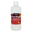 Sargent Art SAR173496 White Art-Time Washable Paint 16 Oz