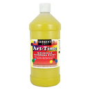 Sargent Art SAR173502 Yellow Art-Time Washable Paint 32Oz