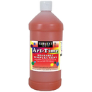 Sargent Art SAR173514 Orange Art-Time Washable Paint 32Oz