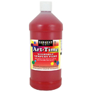 Sargent Art SAR173520 Red Art-Time Washable Paint 32 Oz