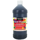 Sargent Art SAR173585 Black Art-Time Washable Paint 32 Oz