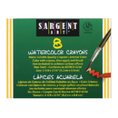 Sargent Art SAR221108 Watercolor Crayons 8Cnt