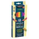 Sargent Art SAR227203 12Ct Sargent Erasable Clrd Pencil