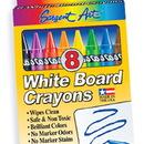 Sargent Art SAR350522 White Board Crayons Lrg