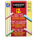 Sargent Art SAR662010 Assorted Dustless Chalkboard Chalk
