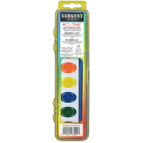Sargent Art SAR668000 8 Semi Moist Watercolor Set, Price/EA