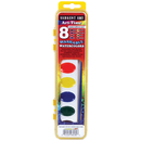 Sargent Art SAR668230 8 Semi Moist Watercolors Washable