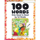 Scholastic Teaching Resources SC-0439399297 100 Words Kids Need To Read By 1St Gr