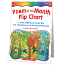 Scholastic Teaching Resources SC-0439471230 Poem Of The Month Flip Chart