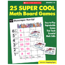 Scholastic Teaching Resources SC-0590378724 25 Super Cool Math Board Games