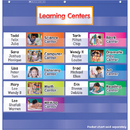 Scholastic Teaching Resources SC-541756 Learning Centers Pocket Chart Add Ons