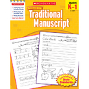Scholastic Teaching Resources SC-9780545200738 Scholastic Success With Traditional Manuscript Gr K-1