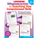 Scholastic Teaching Resources SC-9780545234528 Differentiated Activities Teaching Key Comprehension Skills Gr 2-3