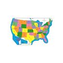 Shapes Etc. SE-1001 Practice Map Labeled Us 8X16