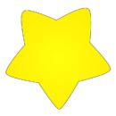 Creative Shapes Etc. SE-714 Notepad Mini Star