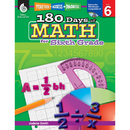 Shell Education SEP50802 180 Days Of Math Gr 6