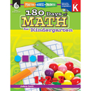 Shell Education SEP50803 180 Days Of Math Gr K
