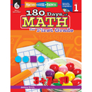 Shell Education SEP50804 180 Days Of Math Gr 1