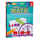 Shell Education SEP50805 180 Days Of Math Gr 2
