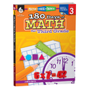 Shell Education SEP50806 180 Days Of Math Gr 3