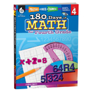 Shell Education SEP50807 180 Days Of Math Gr 4