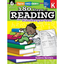 Shell Education SEP50921 180 Days Of Reading Book For Kindergarten