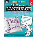 Shell Education SEP51167 180 Days Of Language Gr 2