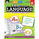 Shell Education SEP51172 180 Days Of Language Gr K