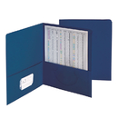Smead Manufacturing SMD87854 Smead 25Ct Dark Blue Standard - Two Pocket Folders