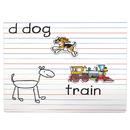Patch Products SME812 Dry Erase Lined Magnet Board