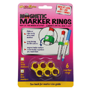The Stikkiworks STK33061 Magnetic Marker Rings 6Pk Fits Thin Barrel Markers