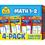 School Zone Publishing SZP04046 Math 1-2 Flash Cards 4 Pk