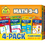 School Zone Publishing SZP04047 Math 3-4 Flash Cards 4 Pk