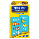 School Zone Publishing SZP05032 Math War Multiplication Game Cards