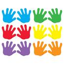 Trend Enterprises T-10831 Classic Accents Handprints Mini Variety Pks